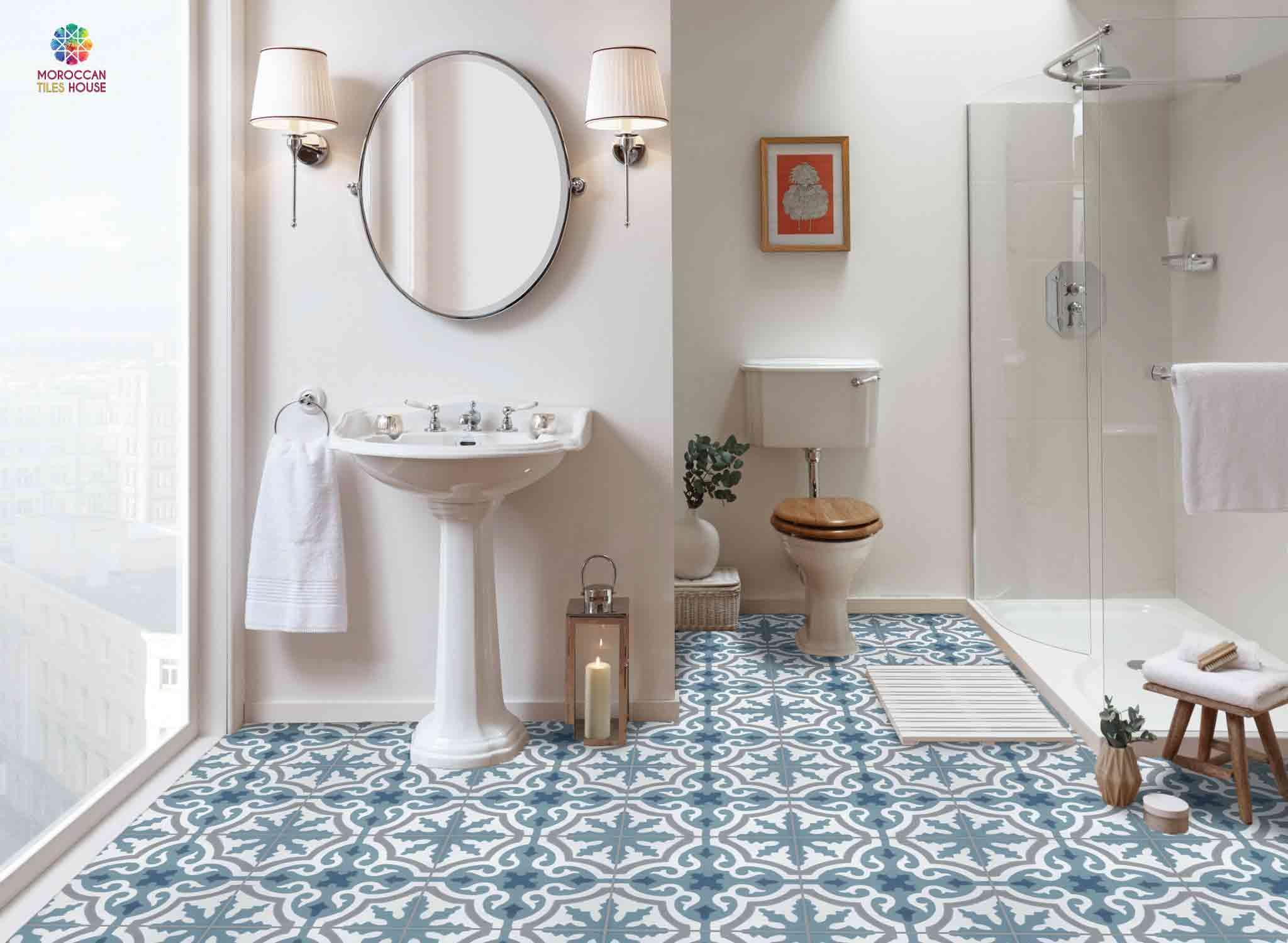 Moroccan Bathroom Tiles Image Of
