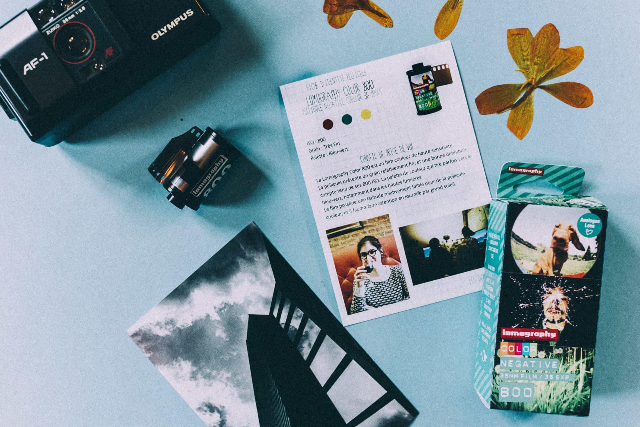 Box de Décembre – Lomography 800