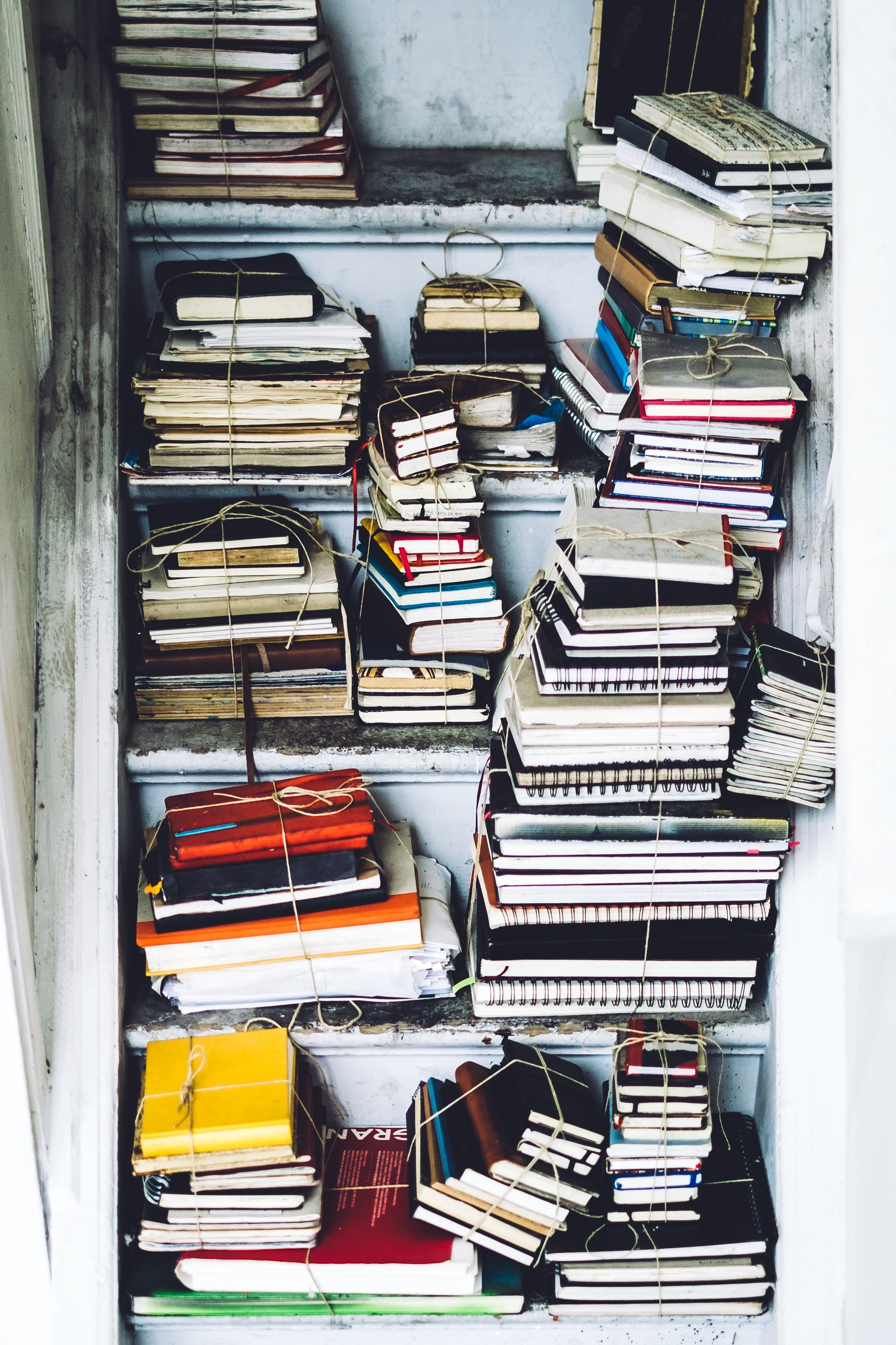 Cluttered Books