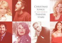 theater stars sing christmas
