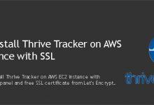 Install Thrive Tracker on AWS