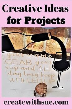 creative ideas for project wedding favor table vinyl sign