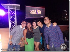 Awesome tweeps! (L-R) Winston, Faith, Ivy, me & Coy... (photo courtesy of WhenInManila.com)