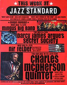 Jazz Standard Poster