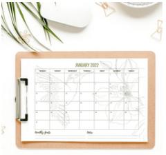 Free Printable Calendar 2022