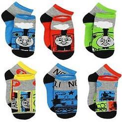 Thomas the Train & Friends Boys 6 pack Socks