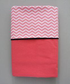 zomerlaken zigzag roze