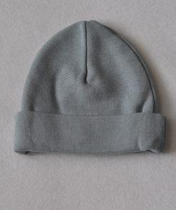 babymutsje grijs
