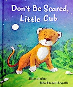 Don't Be Scared Little Cubの絵本