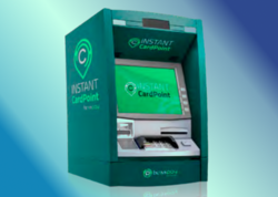 A kiosk for instant card point