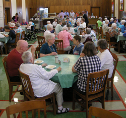Our History: Yankton Benedictines (pictured) welcome a variety of volunteer activities within the monastery.