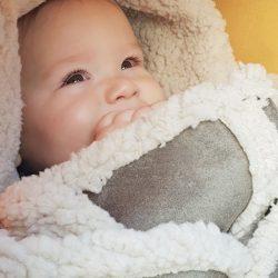 Voetenzak 'BabyBorger' OlijfGroen