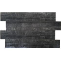 Keramische houtlook vloertegels 20x120 cm antraciet graphite black
