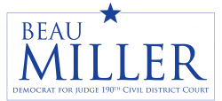 Vote Beau Miller for Judge