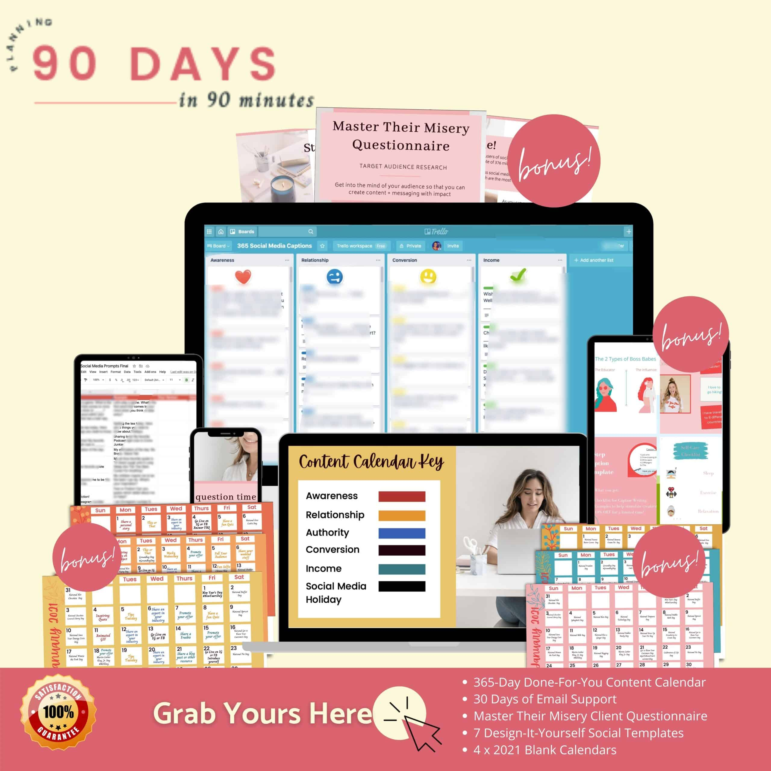 90 Days In 90 Minutes - promo with logo