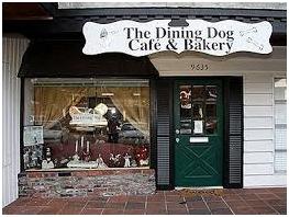 The Dining Dog Café & Bakery facade