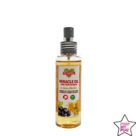 MIRACLE OIL - Olio spray per arrossamenti cutanei e dermatite da contatto, con FIORI DI BACH