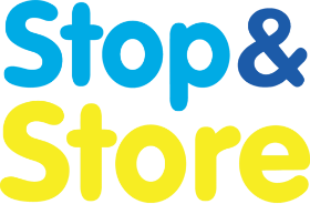 stop and store transparent logo