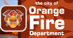 Orange Fire Department logo
