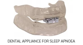 dental Appliance for sleep apnoea