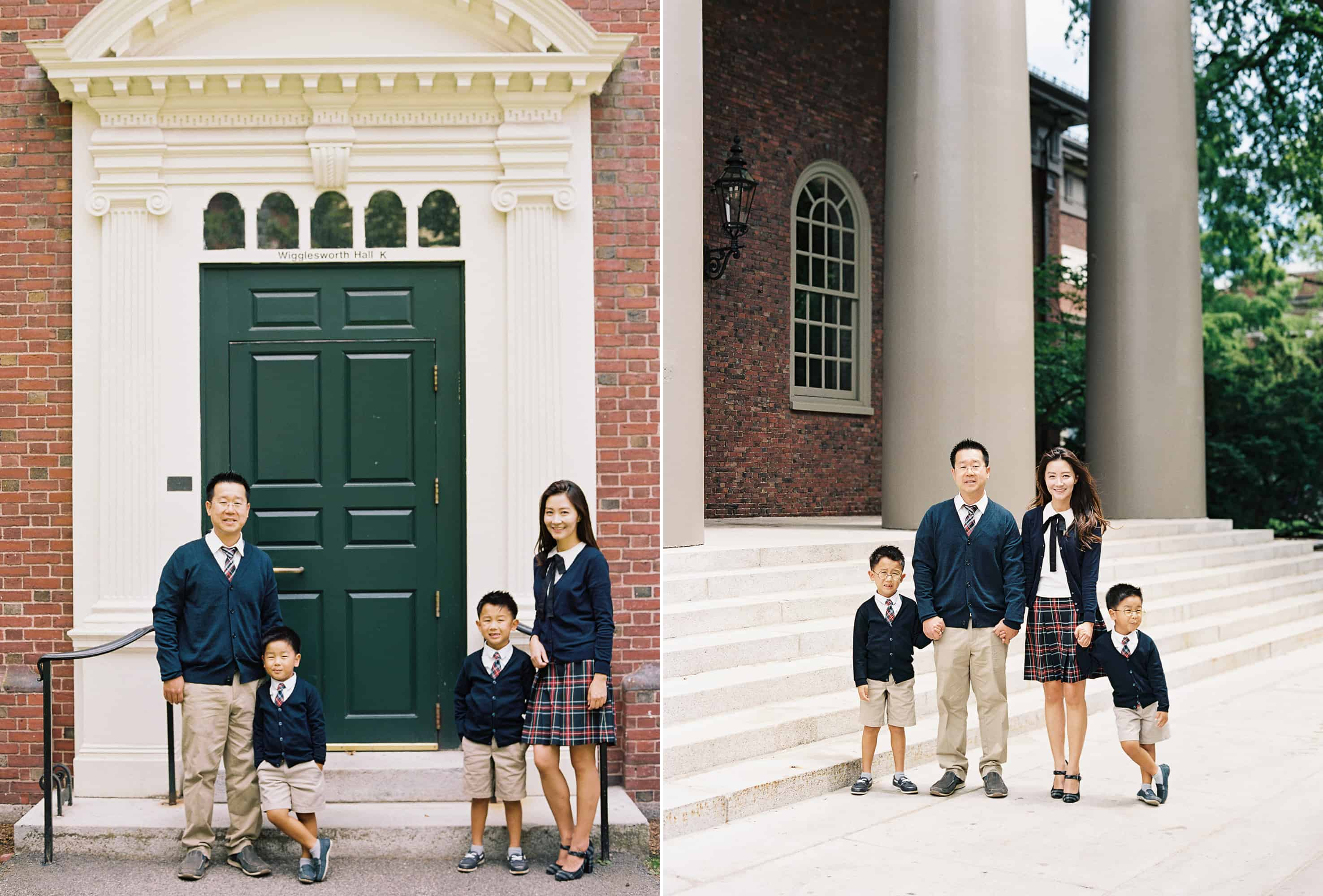 Cambridge MA Family Photography Harvard University