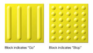 tactile paving types