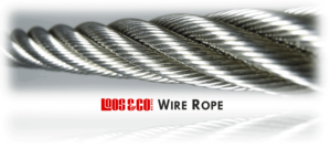 Wire rope and aircraft cable for pulleys