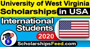 WVU Scholarships 2020 For International Students. WVU Scholarships 2020 for Graduate. Dean's Scholarship 2020 at WV University (West Virginia University)