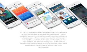 Описание и характеристики системы iOS 8