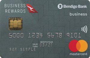 Bendigo Bank Qantas Business Mastercard