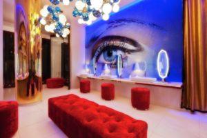 restaurant bathroom design - Vanity Night Club
