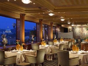 Top hotel restaurants and bars -- La Pergola