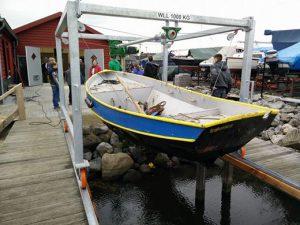 Bootlift voor boothuis