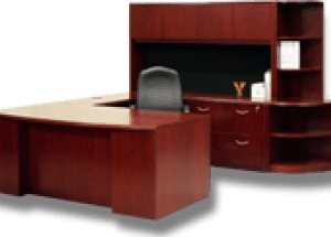 SOLID WOOD OFFICE DESKS