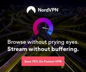 NordVPN promo banner