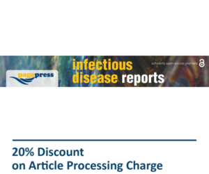 Infectious Disease Reports Pagepress Journal Discount