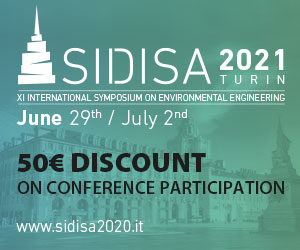 SIDISA 2021 ReviewerCredits 50€ Discount on Conference Participation