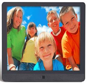 image showing pix star digital frame