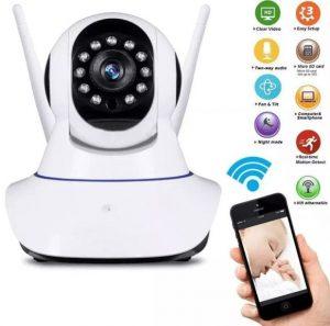 cámara robótica ip wifi inalambrica