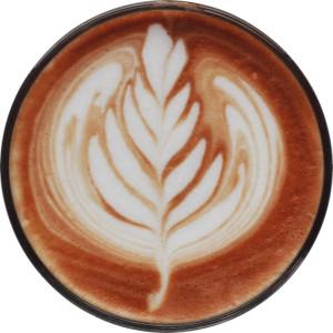 cappuccino fait avec une machine a cafe a grains