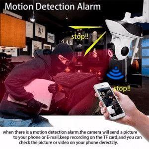 cámara robótica ip wifi robotica