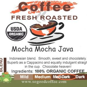 Mocha Mocha Java Organic Coffee