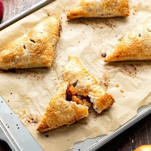 Vegan Puff Pastry Apple Turnovers