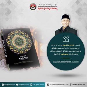 Quotes menghafal Quran