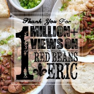 RedBeansAndEric.com has hit over 1 Million Page Views - Thank you!
