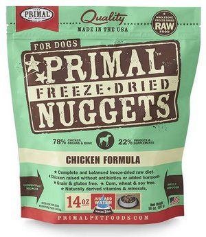 Primal Freeze Dried Dog Food (Chicken Formula)