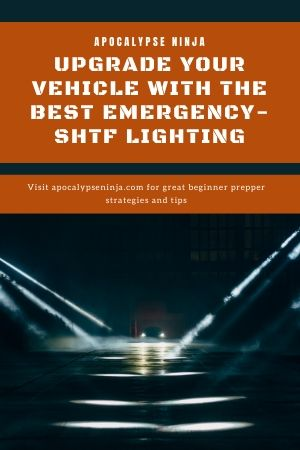 emergency vehicle lighting pin