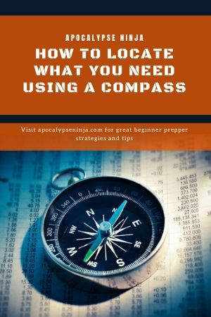 HOW TO LOCATE WHAT YOU NEED USING A COMPASS PIN