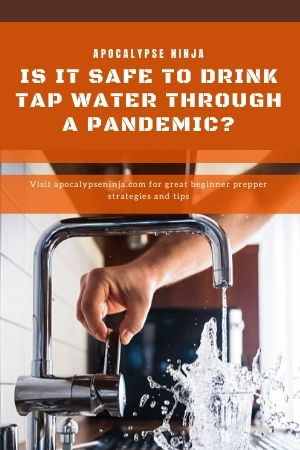 safe to drink tap water pin