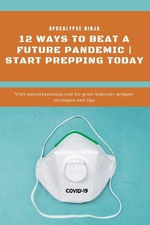 beat a pandemic pin